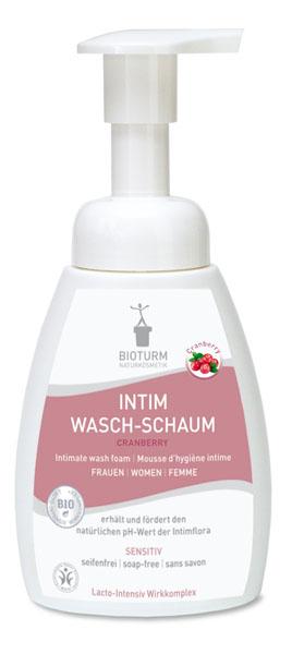 Bioturm Naturkosmetik Intim Wasch-Schaum Cranberry
