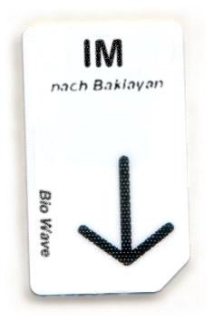 Biowave Chipcard IM nach Baklayan