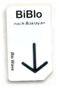 Biowave Chipcard BIBLO nach Baklayan