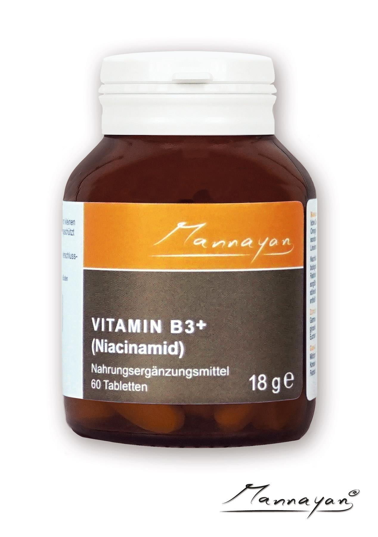 Vitamin B3+ Niacinamid von Mannayan