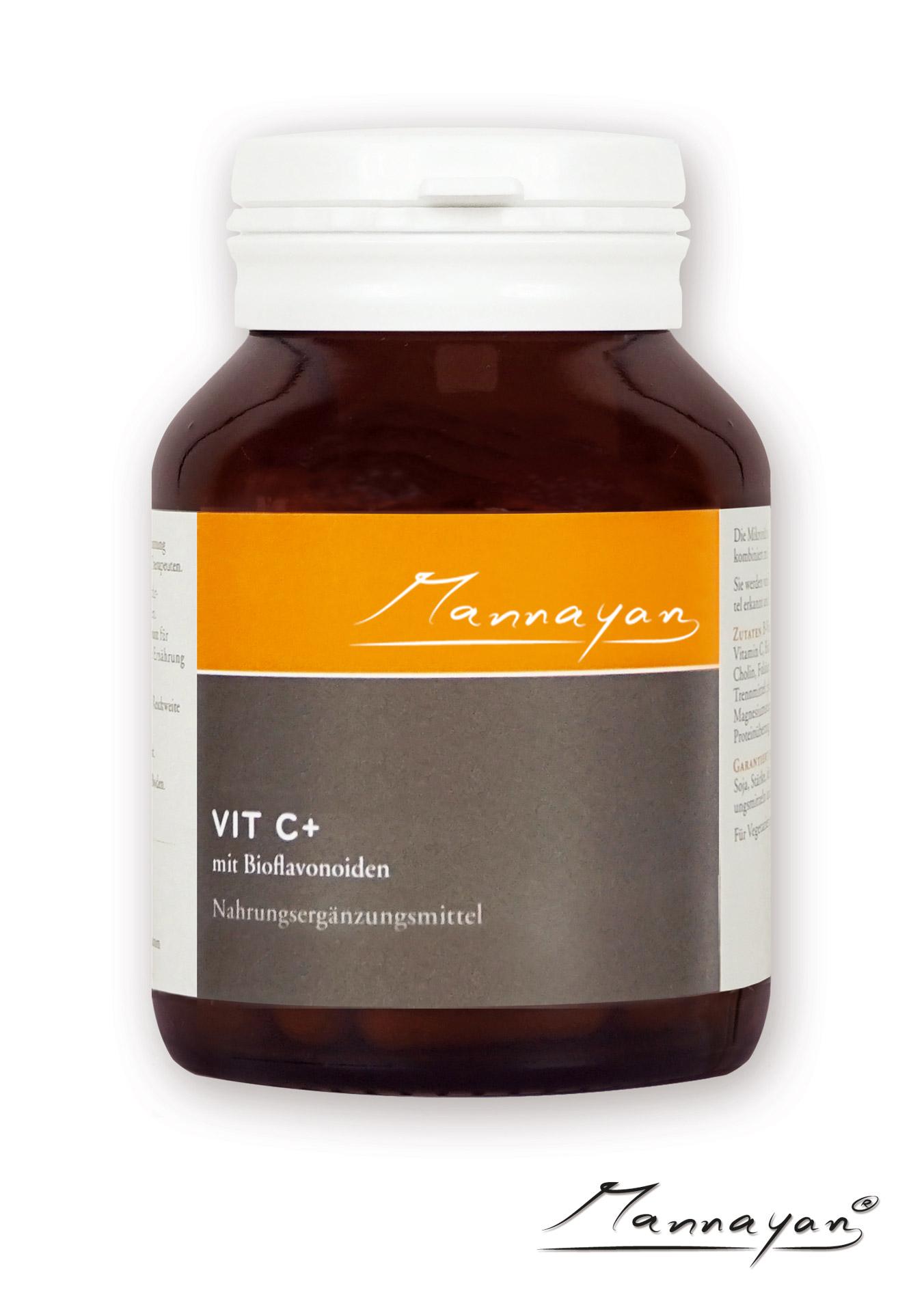 Mannayan VITAMIN C+ (60 Tabletten)