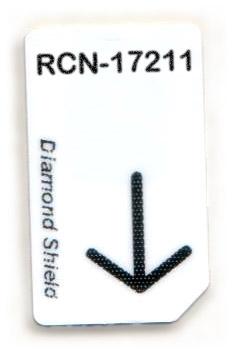 RCN-17211-DS Chipcard für Diamond Shield Zapper