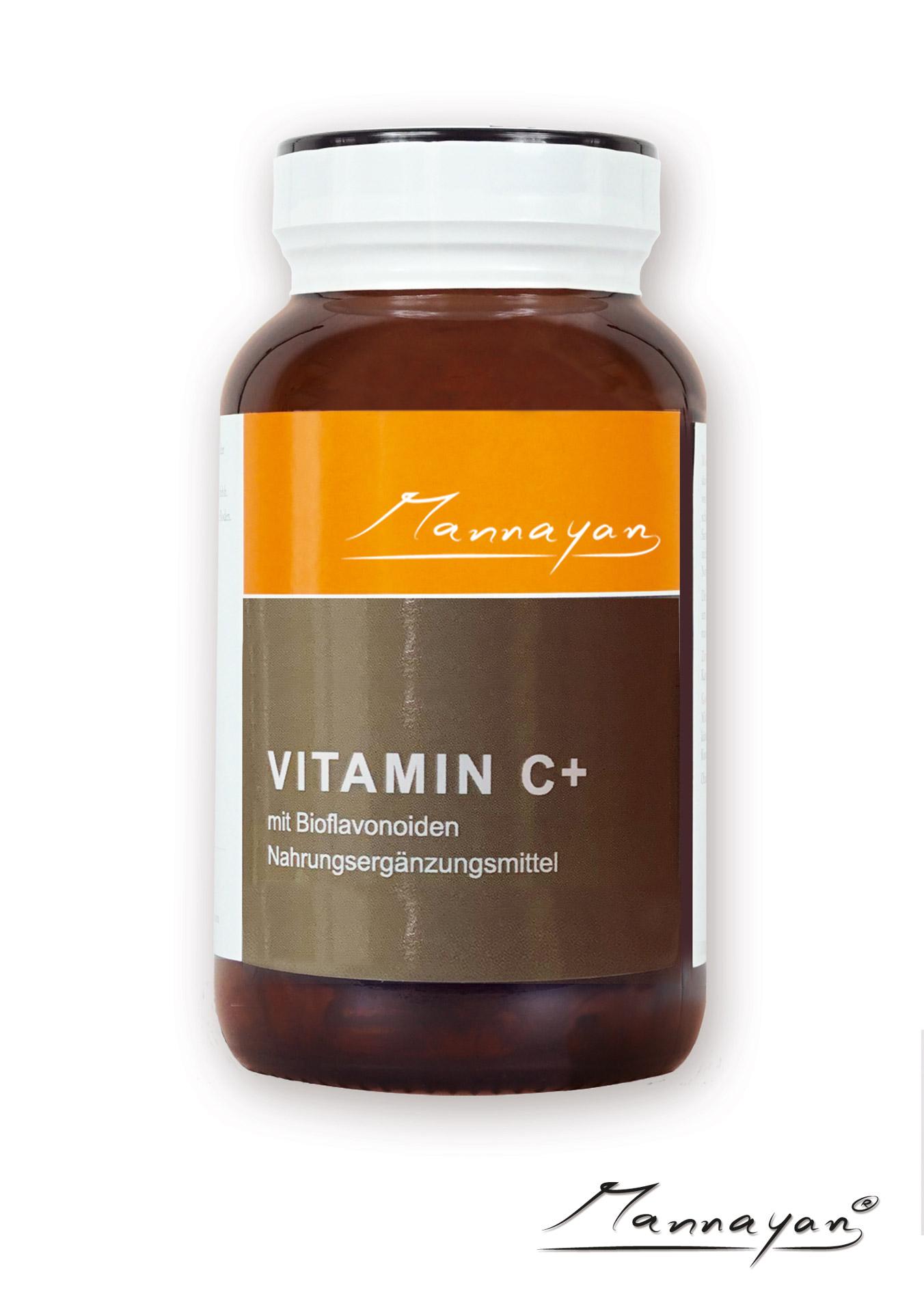 Mannayan VITAMIN C+ (120 Tabletten)
