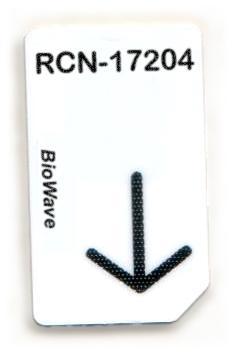 RCN-17204-BW Chipcard für BioWave Zapper