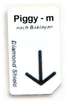 Piggy - m Chipcard nach Baklayan für Diamond Shield Zapper