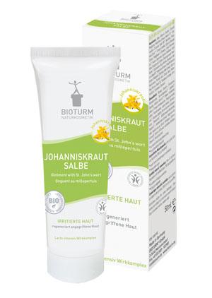Bioturm Naturkosmetik Johanniskraut-Salbe