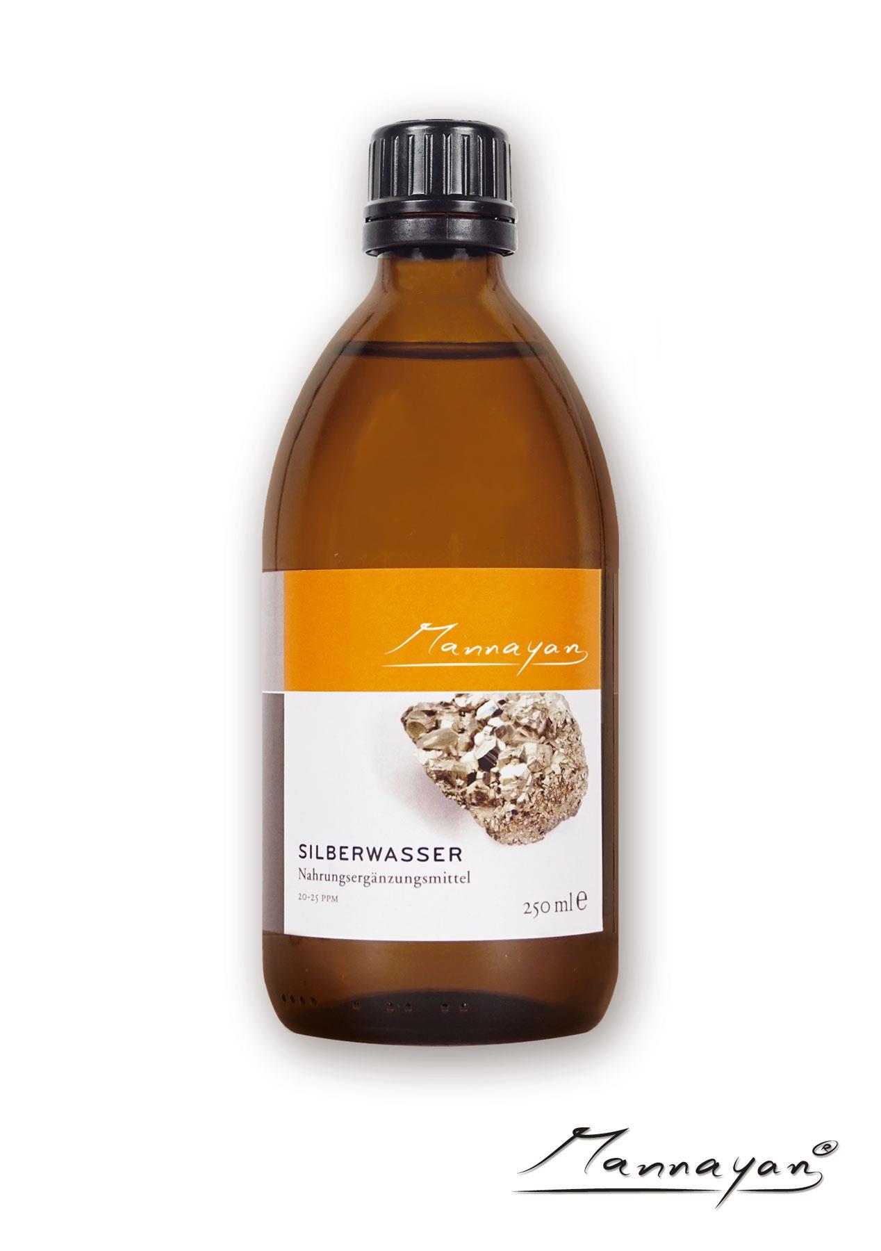 Mannayan Silberwasser 500 ml