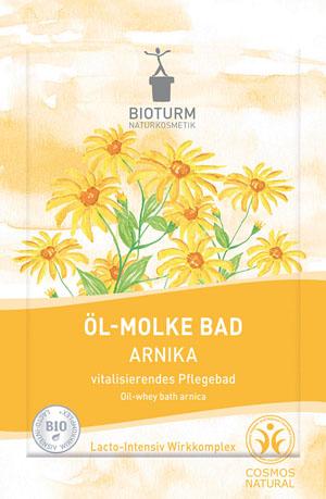 Bioturm Naturkosmetik, Öl-Molke Bad Arnika