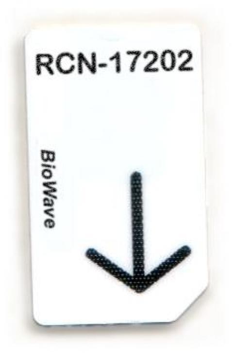 RCN-17202-BW Chipcard für BioWave Zapper