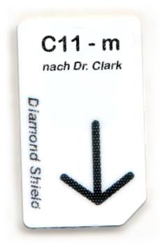 C11 - m Chipcard nach Dr. Clark für Diamond Shield Zapper