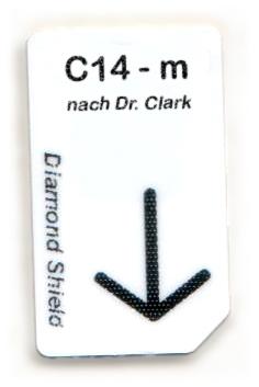 C14 - m Chipcard nach Dr. Clark für Diamond Shield Zapper