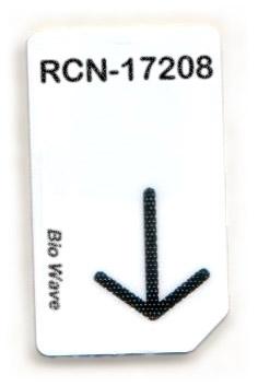 RCN-17208-BW Chipcard für BioWave Zapper