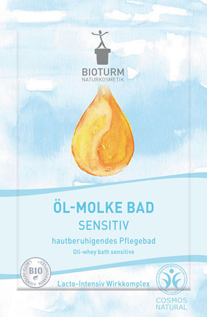 Bioturm Naturkosmetik, Öl-Molke Bad Sensitiv