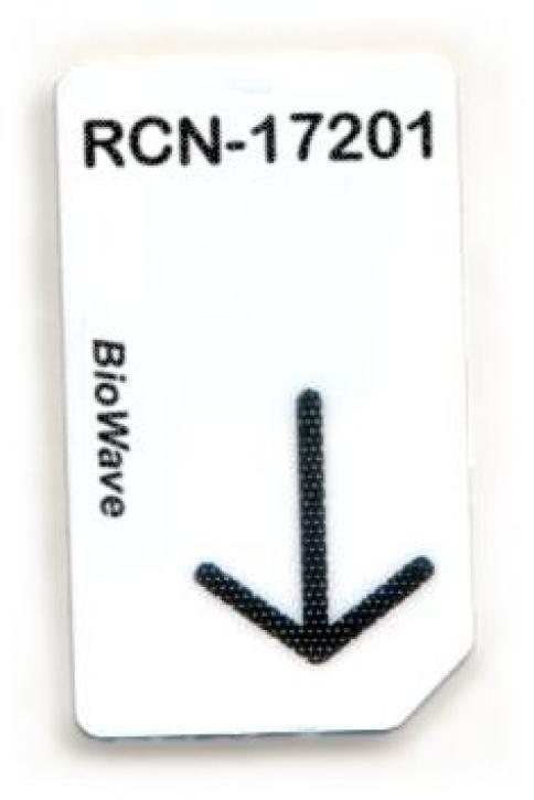 RCN-17201-BW Chipcard für BioWave Zapper