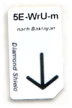 5 Elemente-Wasser-Unterstützung Chipcard nach Baklayan