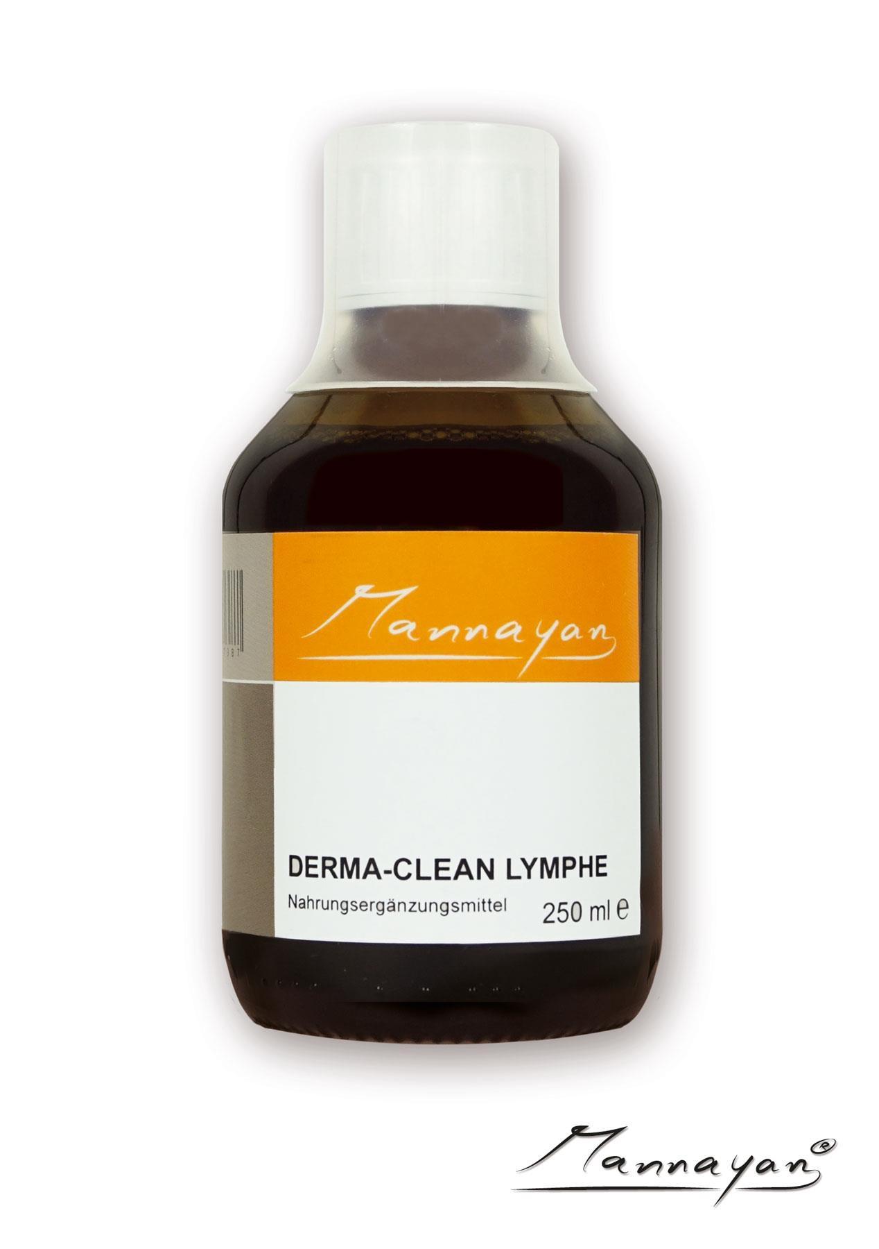 Derma Clean Lymphe von Mannayan