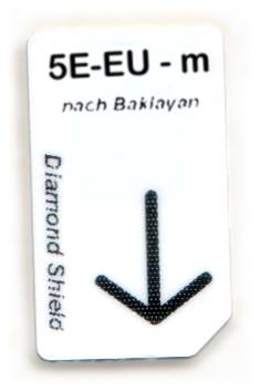 5 Elemente- Erde-Unterstützung Chipcard nach Baklayan
