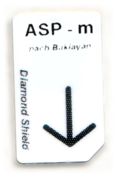 ASP - m Chipcard nach Baklayan für Diamond Shield Zapper
