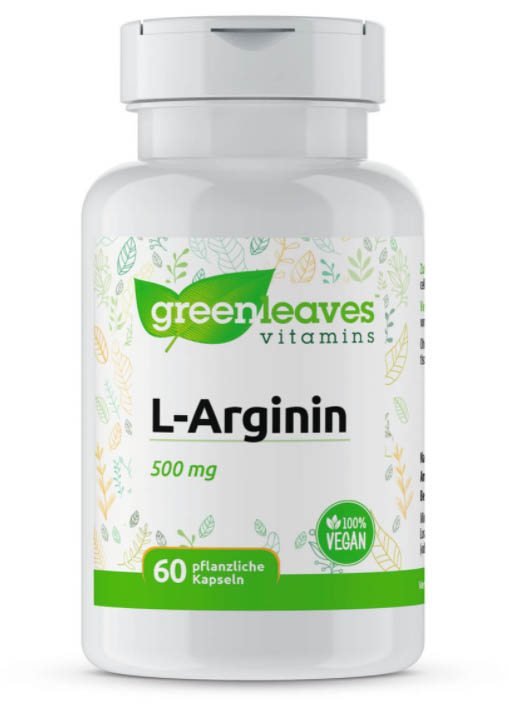 L-Arginin von Greenleaves