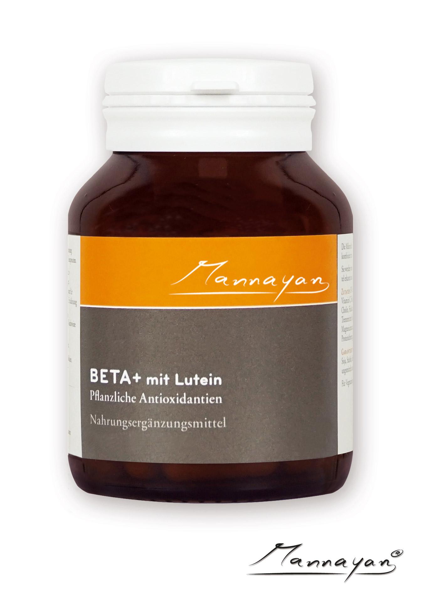 Beta+ mit Lutein von Mannayan
