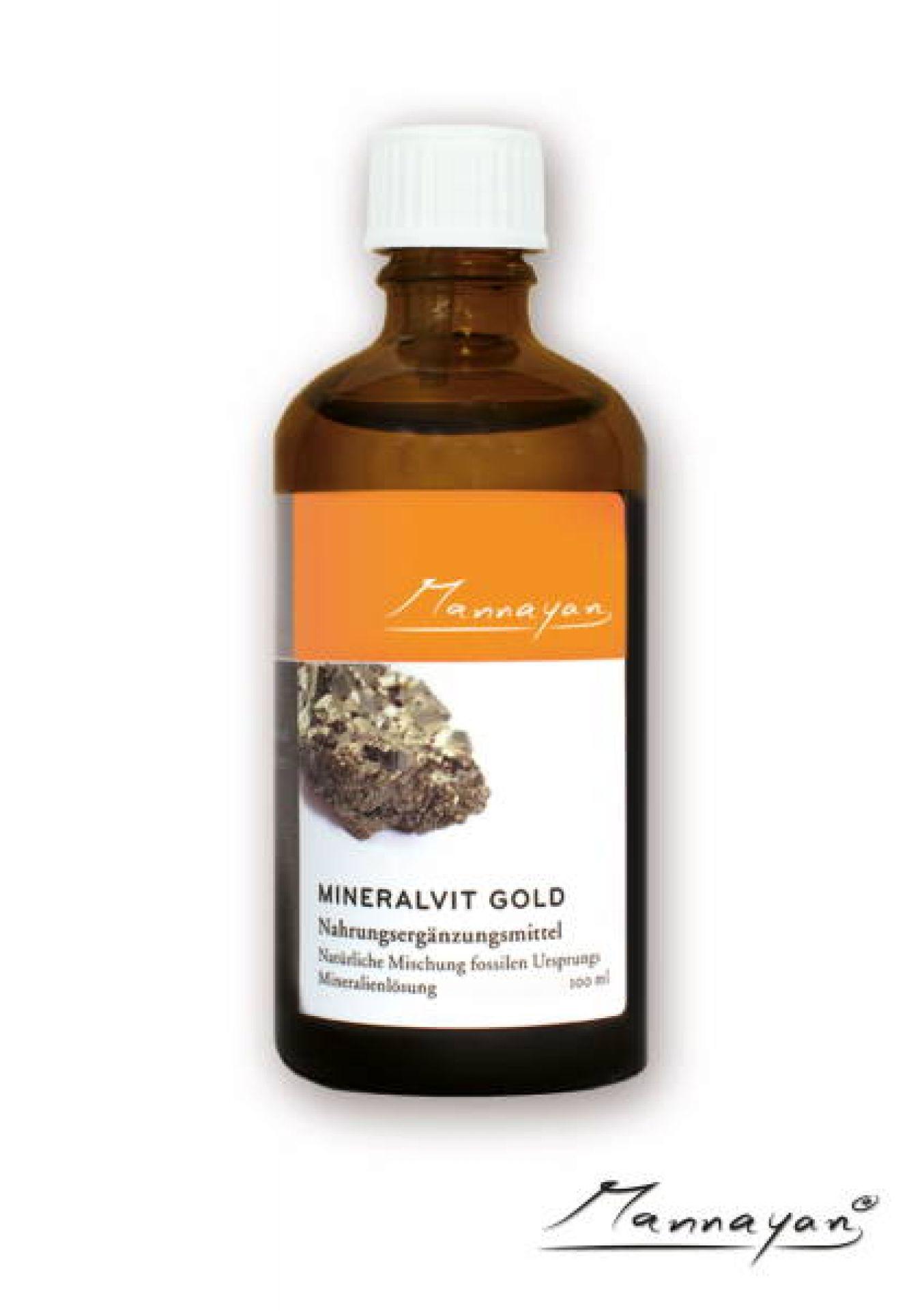 Mineralvit-GOLD 100 ml von Mannayan