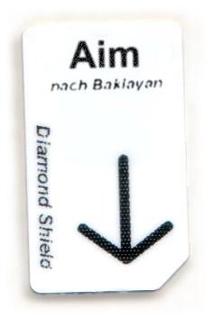 Aim Chipcard nach Baklayan für Diamond Shield Zapper