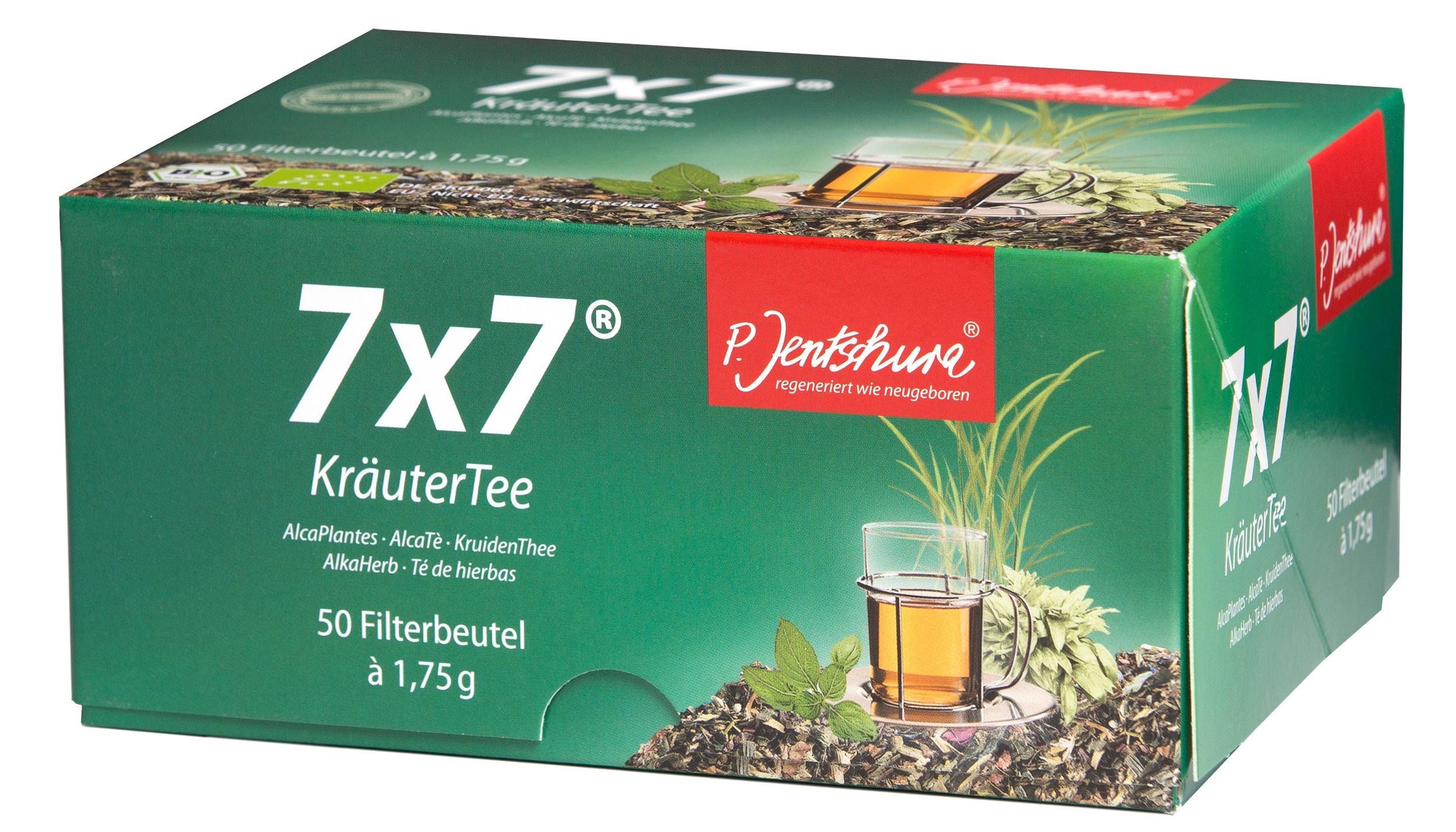 7x7 Kräutertee, 50 Beutel a 1,75 Gramm