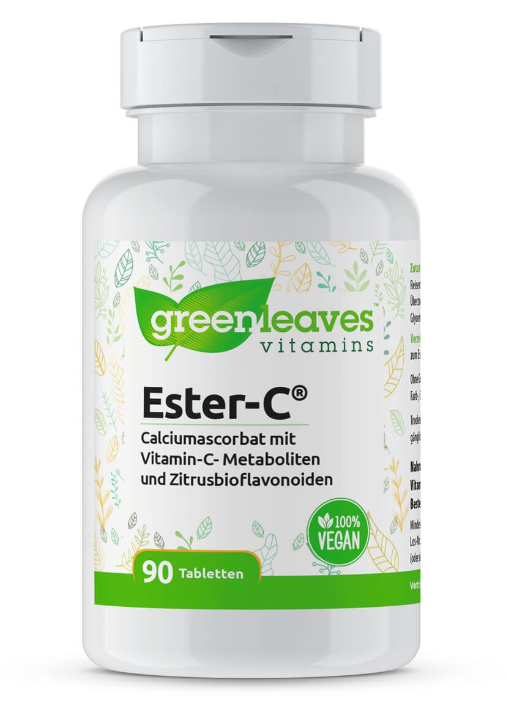 Ester C (Vitamin C) von Greenleaves