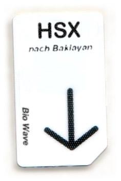 Biowave Chipcard HSX nach Baklayan