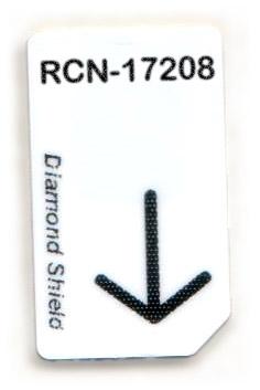 RCN-17208-DS Chipcard für Diamond Shield Zapper