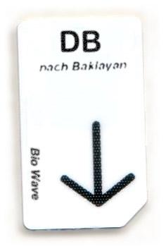 Biowave Chipcard DB nach Baklayan