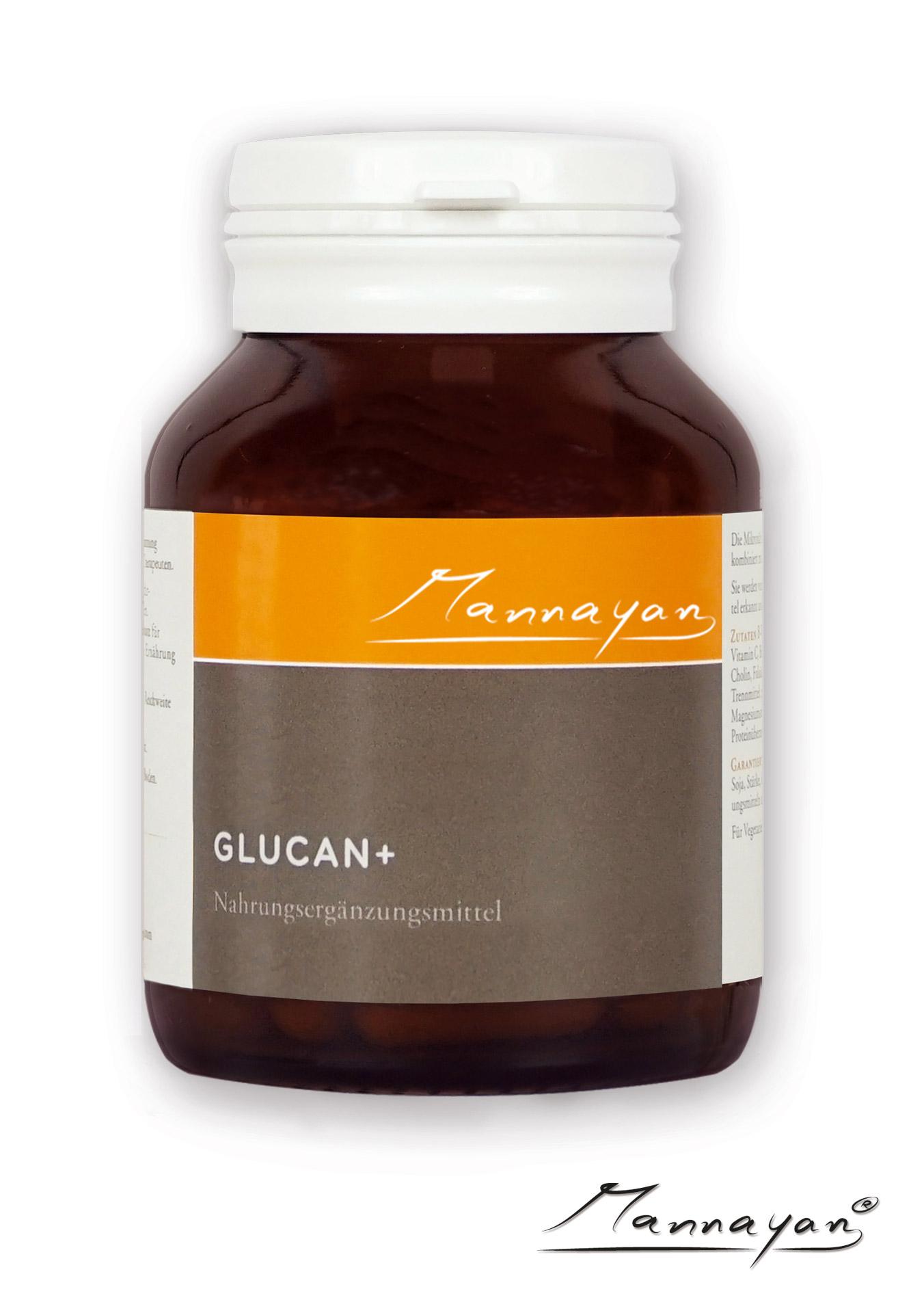 Glucan+ von Mannayan