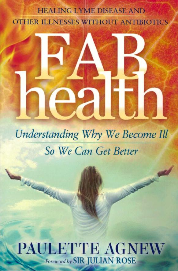 FAB Health - understanding why we become ill, so we can get better von Paulette Agnew auf englisch