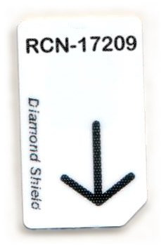 RCN-17209-DS Chipcard für Diamond Shield Zapper