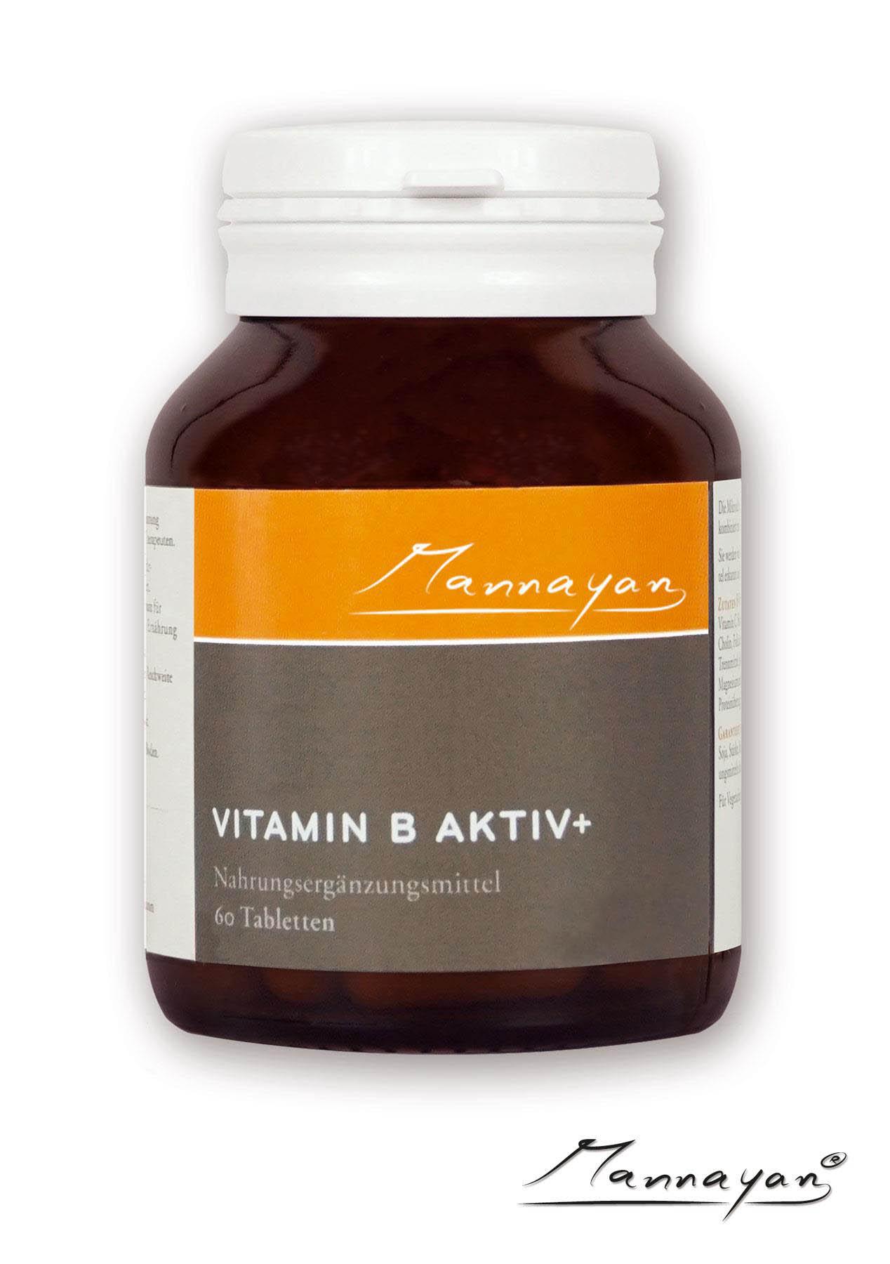 Vitamin B Aktiv+ von Mannayan