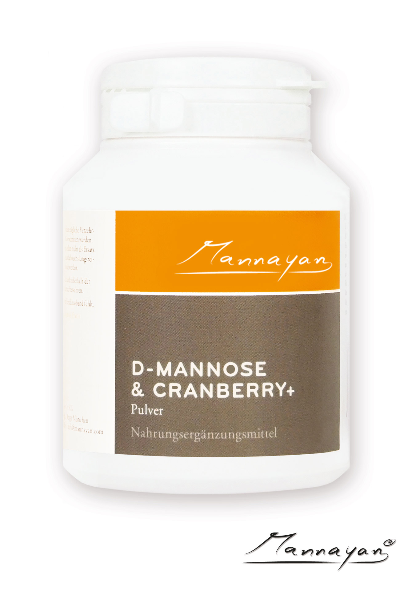 D-Mannose und Cranberry+ von Mannayan