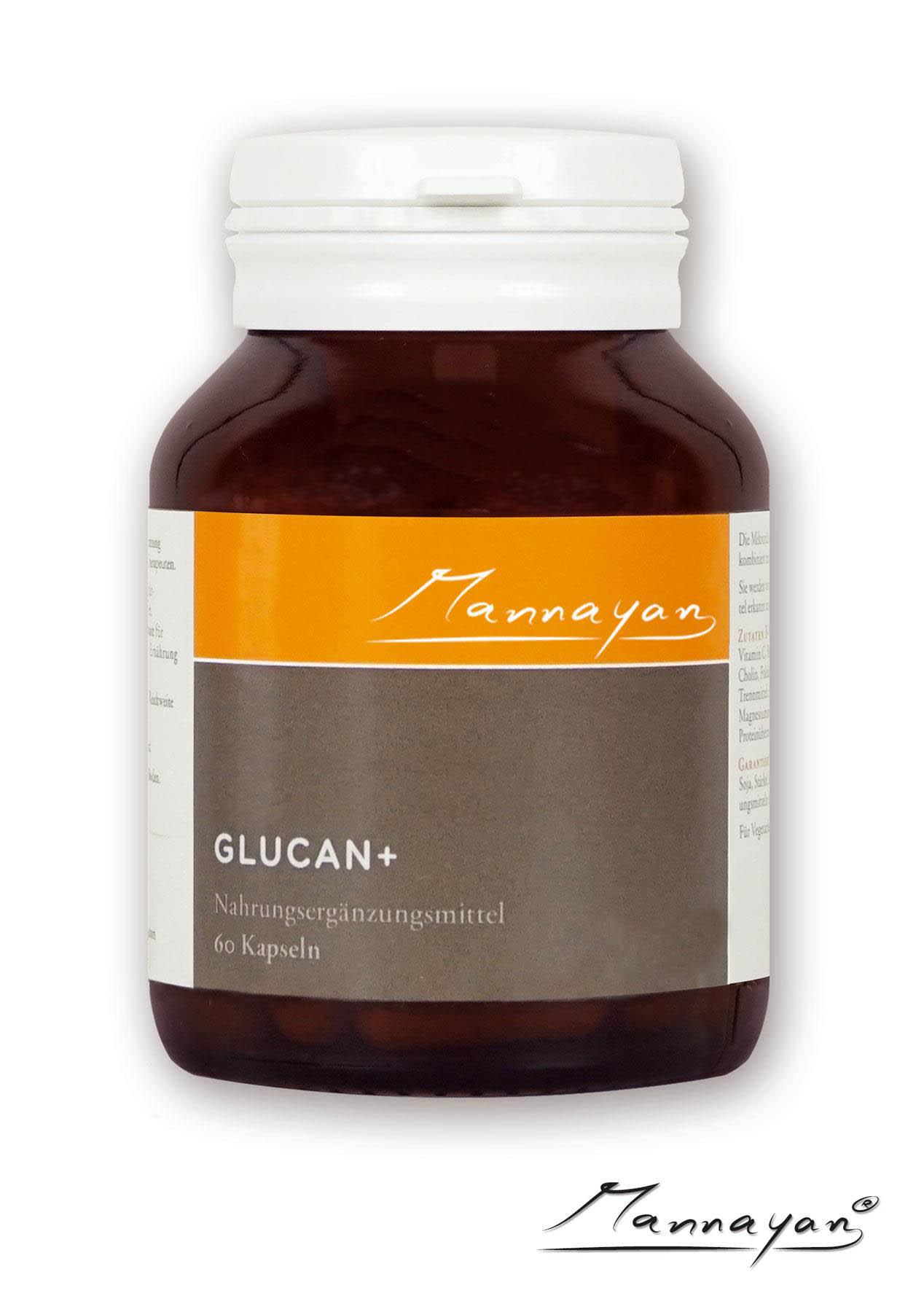 Glucan + von Mannayan