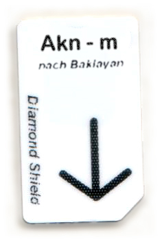 Akn-m Chipcard nach Baklayan für Diamond Shield
