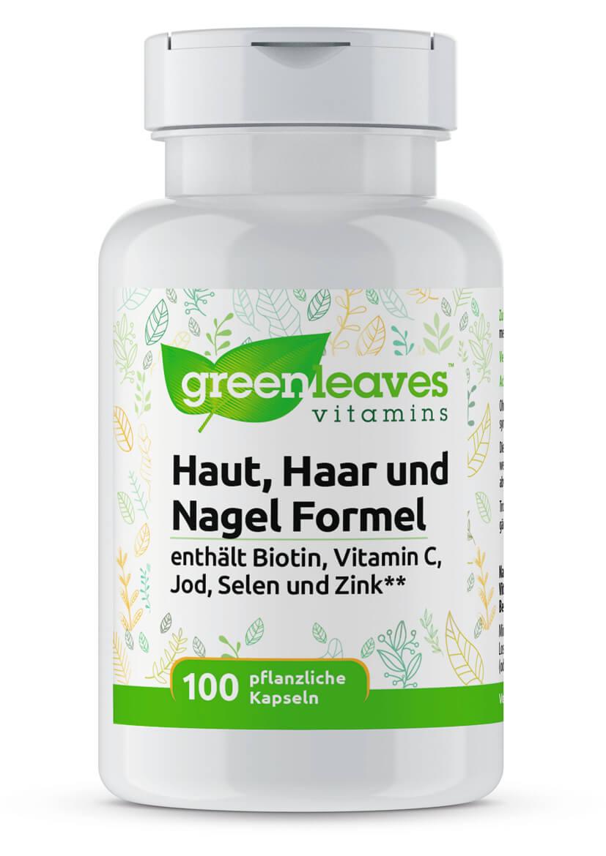 Haut, Haar und Nagel Formel von Greenleaves