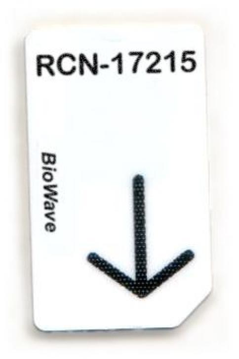 RCN-17215-BW Chipcard für BioWave Zapper