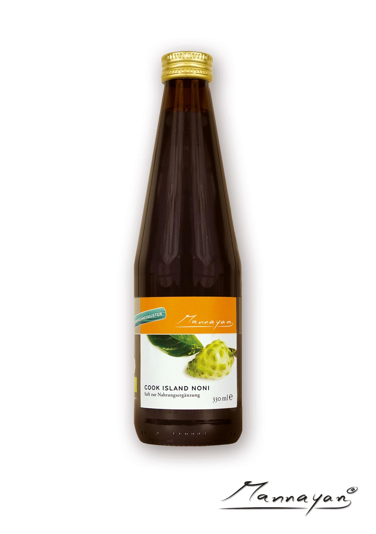 Cook Islands Noni Saft von Mannayan