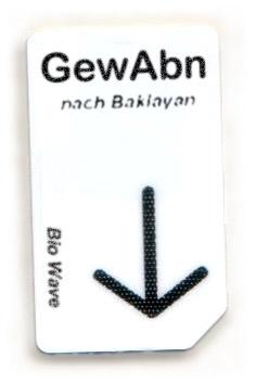 Biowave Chipcard GewAbn nach Baklayan