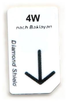 4W - 4 Wälle - Chipkarte nach Baklayan