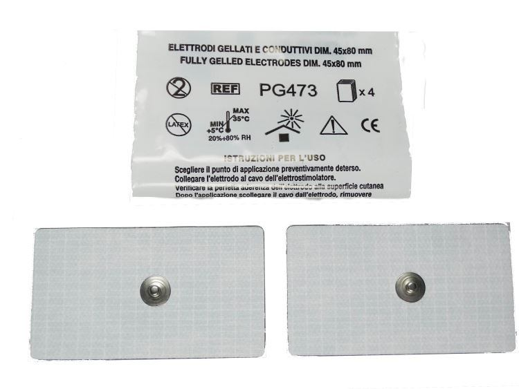 Klebeelektroden 80 x 45 Millimeter
