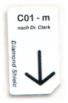 C01 - m Chipcard nach Dr. Clark für Diamond Shield Zapper