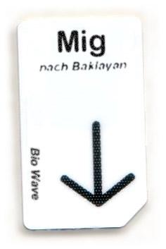 Biowave Chipcard MIG nach Baklayan