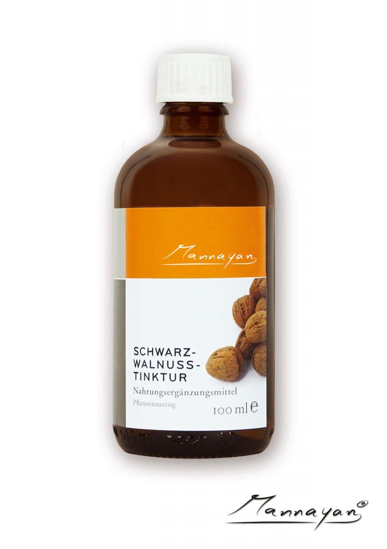 Mannayan Schwarzwalnuss (Tinktur) 100 ml