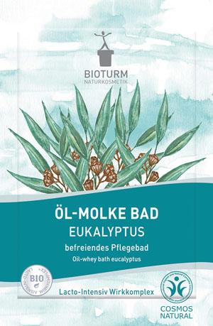 Bioturm Naturkosmetik Öl-Molke Bad Eukalyptus