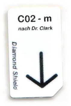 C02 - m Chipcard nach Dr. Clark für Diamond Shield Zapper