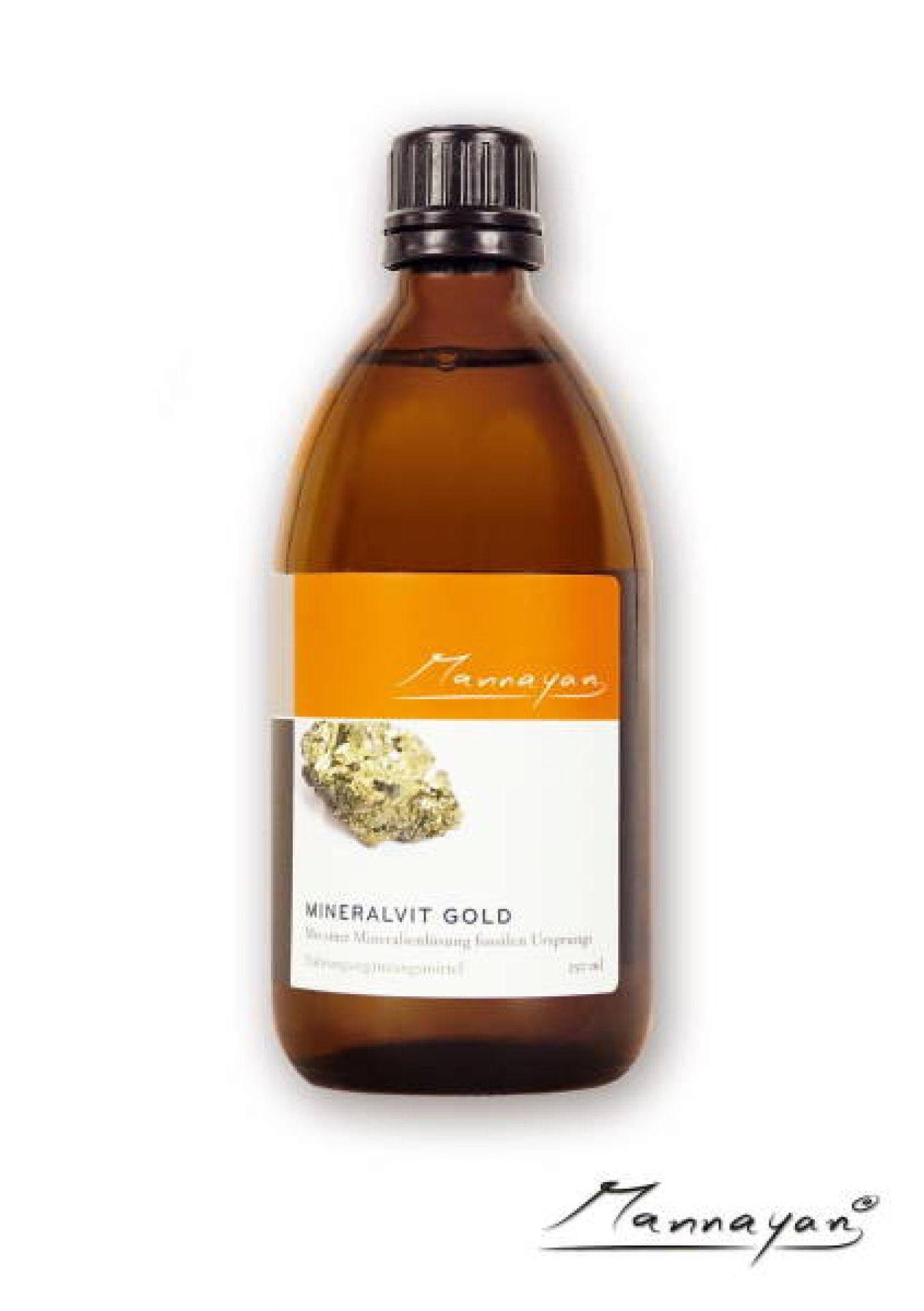 Mineralvit Gold 250 ml von Mannayan